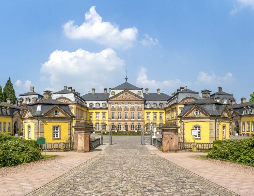 Bad Arolsen, Residenzschloss, Panorama